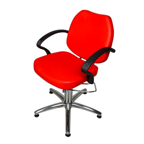 Кресло парикмахерское Соло Модерн гидравлика хром