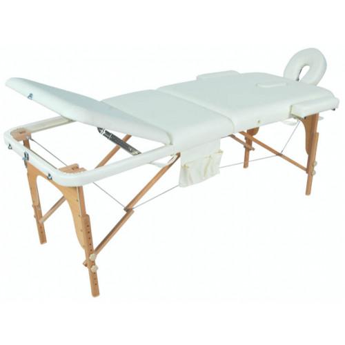 JF-AY01 Стол массажный складной деревянный (три секции)