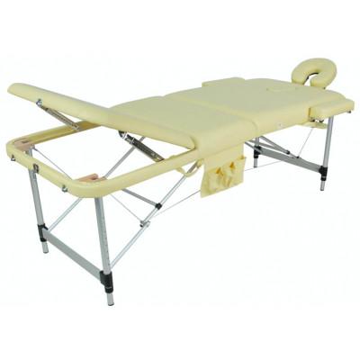 Массажный стол складной алюминиевый JFAL01A 3 секции