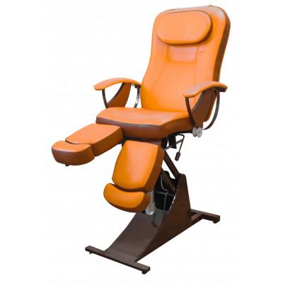 Педикюрное косметологическое кресло Ирина гидравлическое