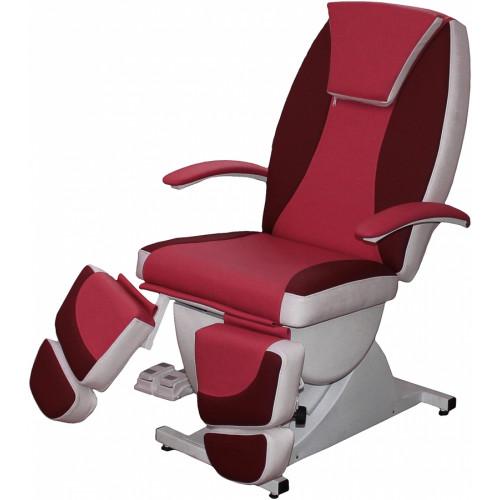 Педикюрное косметологическое кресло Нега 5 моторов