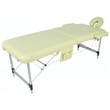 JFAL01A  Стол массажный складной алюминиевый 2 секции
