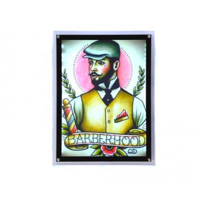 Постер световой БарБер 62056