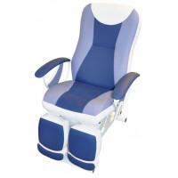 Педикюрное косметологическое кресло Ирина электромотор